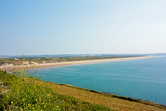 Saunton (SamSmith Photography) Tags: blue sky beach coast dunes surfing devon sands saunton