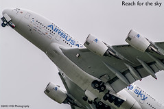 Reach for the sky (IHD Photography) Tags: paris pentax aircraft airshow airbus a380 takeoff k20d smcda300mmf4