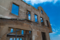 Ruins from The Rock (AndreasGarcia) Tags: sanfrancisco original color architecture digital canon buildings photography ruins prison bayarea alcatraz canon5d ef28135f3556isusm canon5dmkii