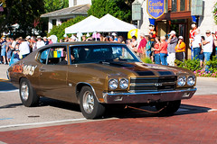 Chevy Chevelle at Auto Fest (hz536n/George Thomas) Tags: summer chevrolet canon lab michigan chevelle september chevy canon5d upnorth hdr carshow frankenmuth smörgåsbord autofest labcolor ef1740mmf4lusm 2013 cs5 photomatix40