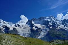 The Glacier Near Gornergrat (jerryjcwu) Tags: travel summer mountains alps landscape switzerland scenery europe glacier gornergrat nikkor d600 alpinegrassland afsnikkor28mmf18g