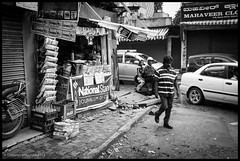 Morning News (GioMagPhotographer) Tags: india bangalore streetlife fujix100s