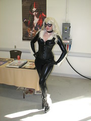 Destiny Nickelsen as Black Cat (FranMoff) Tags: blackcat costume cosplay costumer destinynickelsen granitestatecomicon2013 granitecon2013