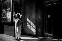 ... (Rinzi Ruiz [street zen]) Tags: life california city urban blackandwhite bw usa art monochrome photography losangeles candid streetphotography streetphoto reportage humancondition documentaryphotography losangelesstreetphotography streetzen rinziruizphotography fujifilmxpro1