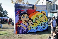 AGANA (STILSAYN) Tags: california graffiti oakland bay dream battle east few area and far agana estria 2014