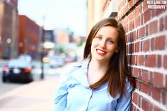 Megan's Turn (matthew_stratton) Tags: street portrait people water newfoundland matt photography downtown labrador stjohns stratton
