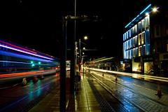 Princes Street Trails, Edinburgh (Colin Myers Photography) Tags: street car rain colin photography lights scotland edinburgh trails scottish princesstreet princes myers edinburghphotography colinmyersphotography