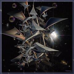 space junk (bloorose-thanks 4 all the faves!!) Tags: art digital 3d render fractal incendia