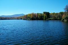 Price Lake (greer82496) Tags: blue mountain lake price julian north grandfather ridge parkway carolina