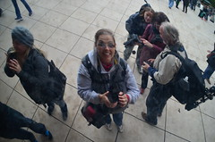 Me in the Bean (Cheryl Schiltz Photography) Tags: chicago architecture navypier fountains cloudgate