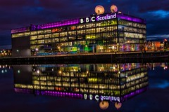 BBC Studios Glasgow (Photeelover) Tags: studio scotland clyde colours unitedkingdom glasgow satellite bbc hdr myshots