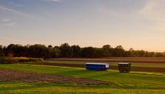 bus in the field (devke) Tags: bus field river landscape serbia sunny subotica tisa vojvodina srbija martonos nikkor1855mmvr nikond5100 vision:mountain=0617 vision:sunset=0904 vision:outdoor=099 vision:sky=099 vision:ocean=0506 vision:clouds=0989