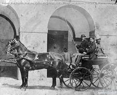 Eugenio Prati Eugenio Prati che si reca alla scuderie reali a Firenze per dipingere Garibaldi a Milazzo 1869