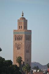 Minaret of the Koutoubia Mosque (Alan Cordova) Tags: morocco marrakech marrakesh 2013 marrakechmorocco marrakeshmorocco december2013 morocco2013 december242013