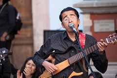 The Song _9755 (hkoons) Tags: music musicians mexico exercise song stage performance performing culture unescoworldheritagesite sing acting instrument onstage guanajuato tune instruments act rhythm chant festivalinternacionalcervantino cervantesfestival museoiconograficodelquixote