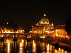 Roma, San Pietro dal Tevere