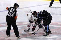 Opening Faceoff (the_mel) Tags: hockey ahl rockford admirals metrocentre milwaukeeadmirals icehogs rockfordicehogs bmoharrisbankcenter
