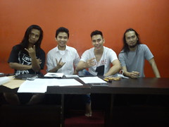 w/ Indonesian rock band d'bandhits