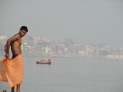 india (gerben more) Tags: shirtless india varanasi youngman india20082