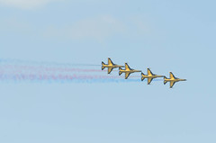 ROKAF Black Eagles (chengkiang) Tags: singapore airshow southkorea aerobatics t50 blackeagles