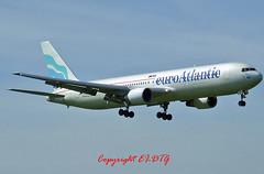 Boeing 767-383ER CS-TLO Euro Atlantic (EI-DTG) Tags: dublin dub euroatlantic dublinairport planespotting boeing767 b767 b763 collinstown 03jun2006 eidw cstlo runway10