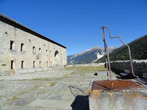 Aussois, fort Victor-Emmanuel © D. Dereani - Fondation Facim