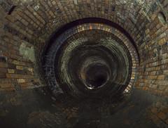 Brick Dream (darkday.) Tags: urban brick underground pipe australia tunnel brisbane explore urbanexploration qld queensland manhole exploration stormdrain urbex brickdrain possumseelcave