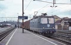 1996-03, VHB, Burgdorf CFF (Fototak) Tags: train switzerland eisenbahn railway treno vhb 141 rm elok re436 re44iii