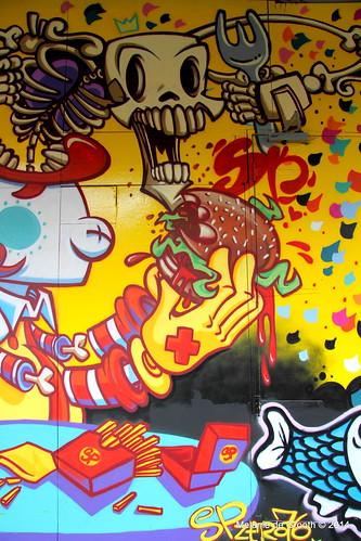 Graffiti Exhibition at Southbank 3