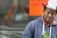 Mojitoman @ King's Day Amsterdam 2014 (Merlijn Hoek) Tags: amsterdam polaroid dof picture depthoffield merlijn willemalexander kingsday merlijnhoek nikond800 kingwillemalexander makingmojito mojitoman