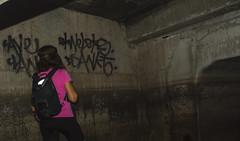 Dsankt Tag & Milf (darkday.) Tags: pink urban woman underground concrete graffiti australia tags brisbane drain explore urbanexploration backpack qld queensland exploration milf stormdrain urbex dsankt dsanktuary brickdrain dsanktuarysghost