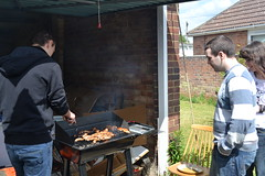 "Getting the barbeque set up • <a style=""font-size:0.8em;"" href=""http://www.flickr.com/photos/76114232@N04/14129383551/"" target=""_blank"">View on Flickr</a>"