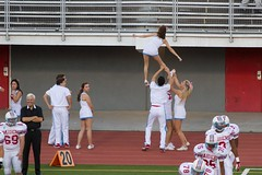Friday Night Football (sport.shooter) Tags: school game sport football high cheer cheerleader cheerleading