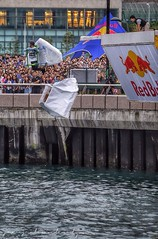 It will end in tears! Red Bull Flugtag - Hong Kong 2014 (lyon photography) Tags: sea fun harbour flight competition entertainment distance amateur runway wrightbrothers redbullflugtag hongkongisland launchpad nosedive ditching newcentralharbour