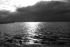 restund (brandsvig) Tags: sea bw skne sweden sverige hav resund lomma lommabukten