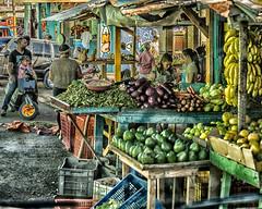 Dominican Village Market (Jos Pockett) Tags: life vegetables rural village market dominicanrepublic dominicanadventure pffood15 higueytosamana