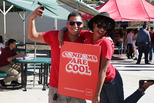 International Condom Day 2015: USA - Los Angeles