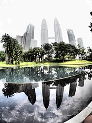 Petronas Towers, Kuala Lumpur!