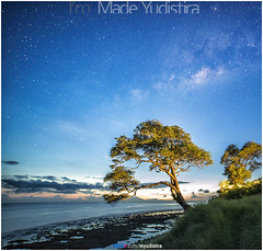 The Tree Meet The Milky (Bali Freelance Photographer) Tags: life people bali nature beauty canon indonesia eos photo foto stock culture daily cultural alam budaya balinese culturalevent myudistira madeyudistira myudistiraphotography