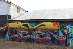 print 080 (leaveyourmarksac) Tags: california street art leave wall graffiti mark sac your sacramento walls graff legal 916 sacto texer sacgraff sacstreetart