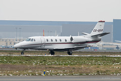 Cessna Citation 560XL Netjets CS-DXP (Mav'31) Tags: plane private airplane airport nikon aircraft jet sigma business toulouse spotting tls lfbo d5100