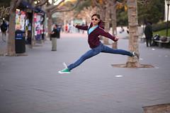 Leap of faith (Eric Londgren Photography) Tags: ballet berkeley cal sproulplaza jete converseallstars flyingjete