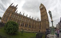 House of Parliment (salmonsalmon) Tags: england london big ben fisheye parliment