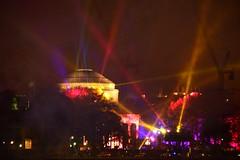 color lights at MIT 2016 (hansntareen) Tags: fireworks mit celebration laser rivercrossing 2016 nightspot