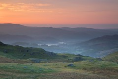 Watching Dawn From Wrynose Pass 1 (Colin Ridley 521) Tags: mist lakedistrict wrynosepass littlelangdale