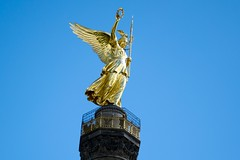 Berlin, Siegessule goldene Else (Anja 1612) Tags: berlin else figur siegessule goldene sule
