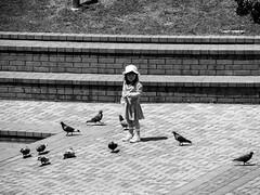 Shashin - DSCN4680 (Mathieu Perron) Tags: life city bridge people bw white black monochrome japan nikon noir market perron daily nb kobe journey  mp organic blanc japon personne ville gens vie mathieu    sjour   brik quotidienne  umie    nrik    p520  zheld