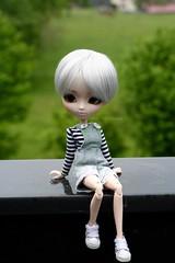 Arrietty. (Juju DollPassion) Tags: doll dolls wig chan nana pullip custom custo salopette dehors nanachan