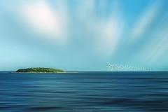 Sintesi Energia (Roberto -) Tags: blue sea denmark energy mare wind farm offshore explore turbine vento energia danimarca eolico explored esplora
