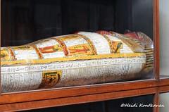 Anthropoid coffin (konde) Tags: ancient priest coffin vignette hieroglyphs thebes deities deirelbahri cairomuseum anthropoid 25thdynasty thirdintermediateperiod mummycoffin